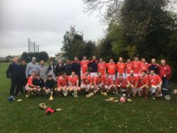 Junior Hurling Champions - November 2018
