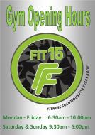 HPC / FIT15 Opening Hours 2017