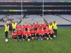 Caman To Croker- U12 team had a great experience in Croke Park on Easter Monday, played Johnstownbridge, Erins Isle and Burren