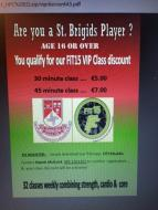Great Discounts for St Brigids Players