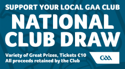 Thank you to everyone who supported the GAA National Club Draw 2020