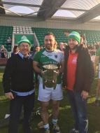 Congratulations to London Hurling Championship winner Aidan O'Leary