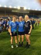 Well done to Noelle Healy, Deirdre Murphy and Ciara Trant next stop the Final in  Croke Park!