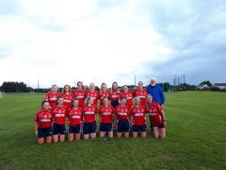 St Brigids Junior Ladies Football, June 2019