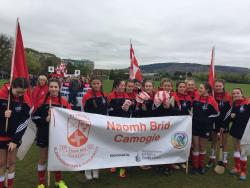 Camogie Feile parade 22nd April 2017