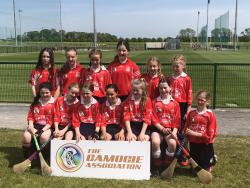 Well done to U12 Camogie who took part in Caman to Croker this May