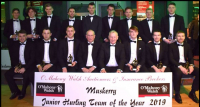 Jnr Hurling team of the year.