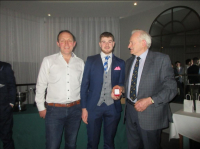 Minor Medal presentation