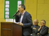 Éire Óg Development Draw 2014 - Conor Healy Phones the Winner