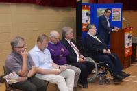 Development Draw Launch (28.07.2014) Conor Healy & Guests