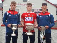 All Ireland winners 2019, Jack, Hugh and Colm.
