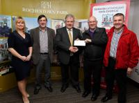 2014 Division 3 Football League Cheque Presentation