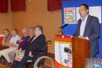 Development Draw Launch (28.07.2014) Conor Healy Dev. Committee Chairman