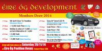 Éire Óg Development Draw 2014 - Ticket