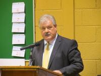 Éire Óg Development Draw 2014 - Co. Board Chairman Bob Ryan