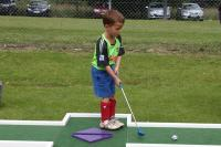 Seamus enjoying the Pitch & Putt