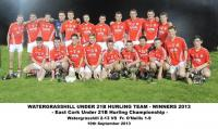 Watergrasshill Under 21 Team 2013