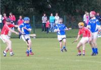 Brendan Maloney piles on the pressure as Patrick Cronin waits for the break in the East Cork Final