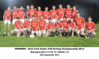2013 Under 21 Winners