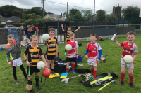 Watergrasshill and Glenville U9's we're back in action