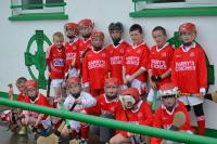 Watergrassshill U10 Hurlers at the match this morning against Emeralds GAA of Urlingford in Kilkenny - with Watergrasshill Glenv