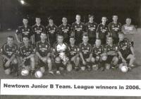 Junior B League Winners 2006